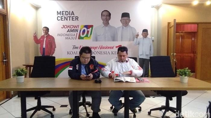TKN Jokowi-Maruf tunggu maaf dari Indopos terkait berita Ahok Gantikan Maruf?. (Lisye Sri Rahayu/detikcom)