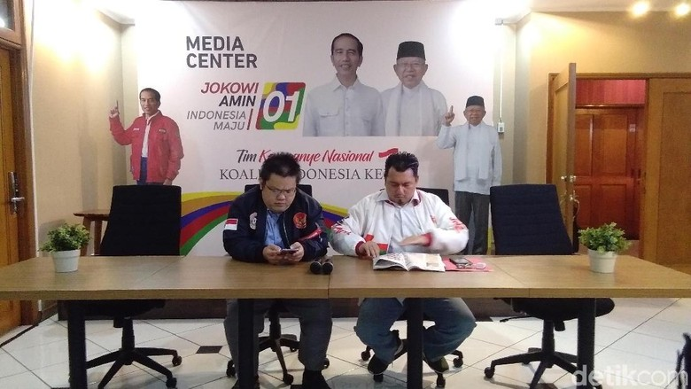 Soal Berita Ahok Gantikan Maruf?, TKN Jokowi Tunggu Maaf dari Indopos
