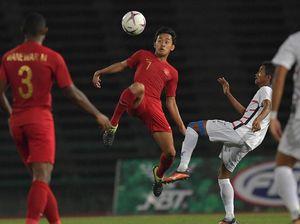 Indonesia vs Vietnam di Semifinal Piala AFF U-22 2019