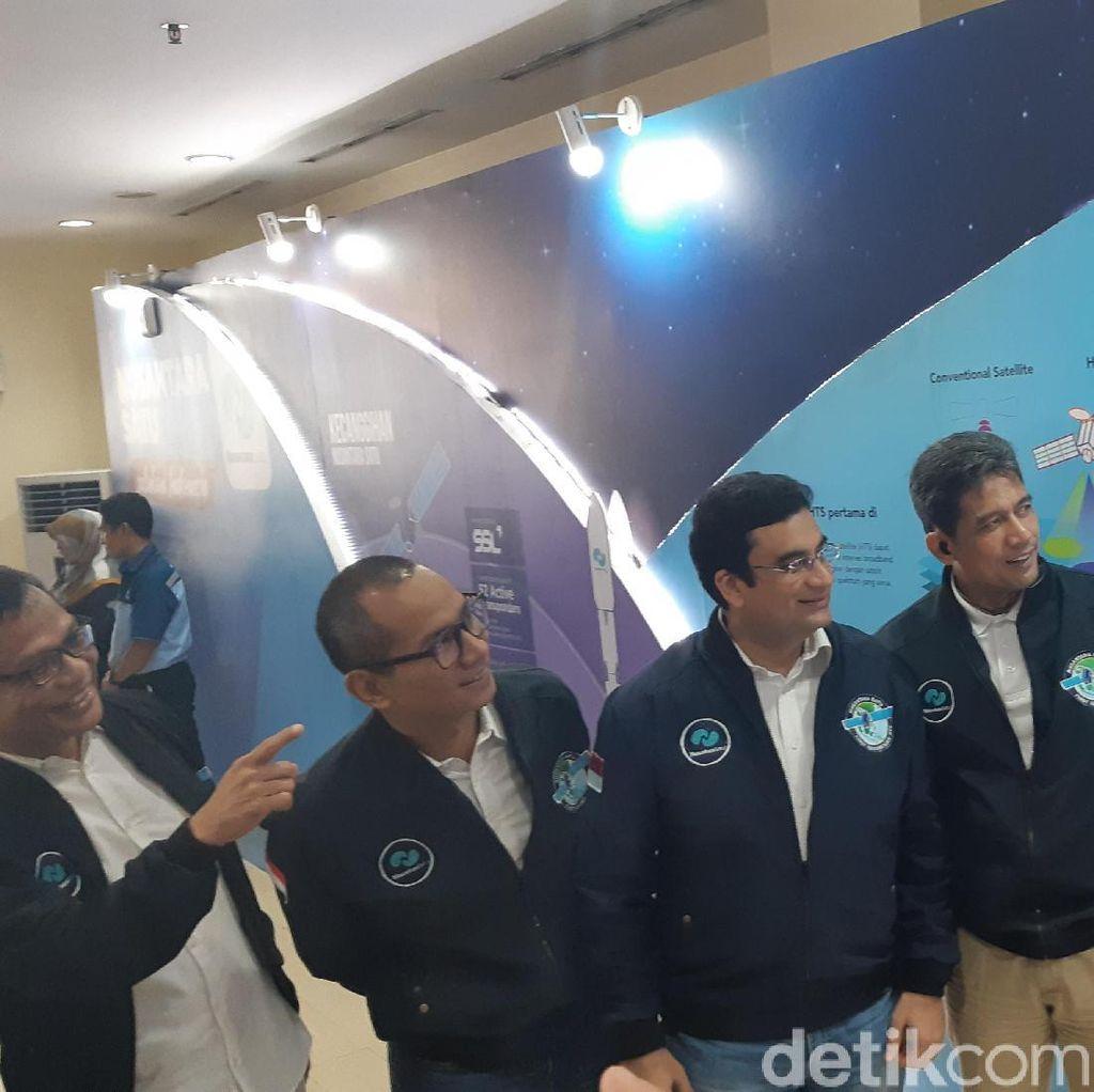 Satelit Nusantara Satu Sukses Diterbangkan Roket SpaceX