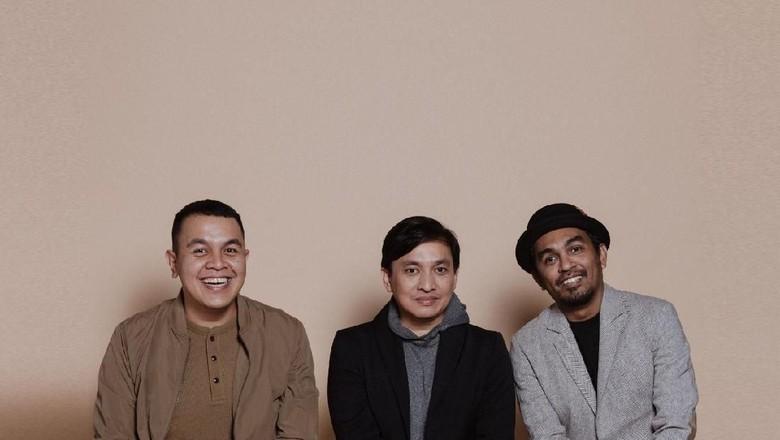 Foto: dok. Yovie Widianto, Tulus dan Glenn Fredly