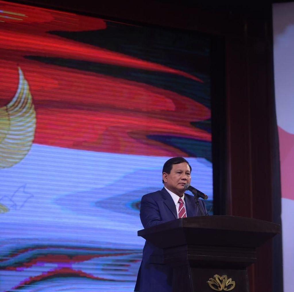 Prabowo: Pemimpin Tak Hanya Satu Golongan, Kita Hidup Majemuk
