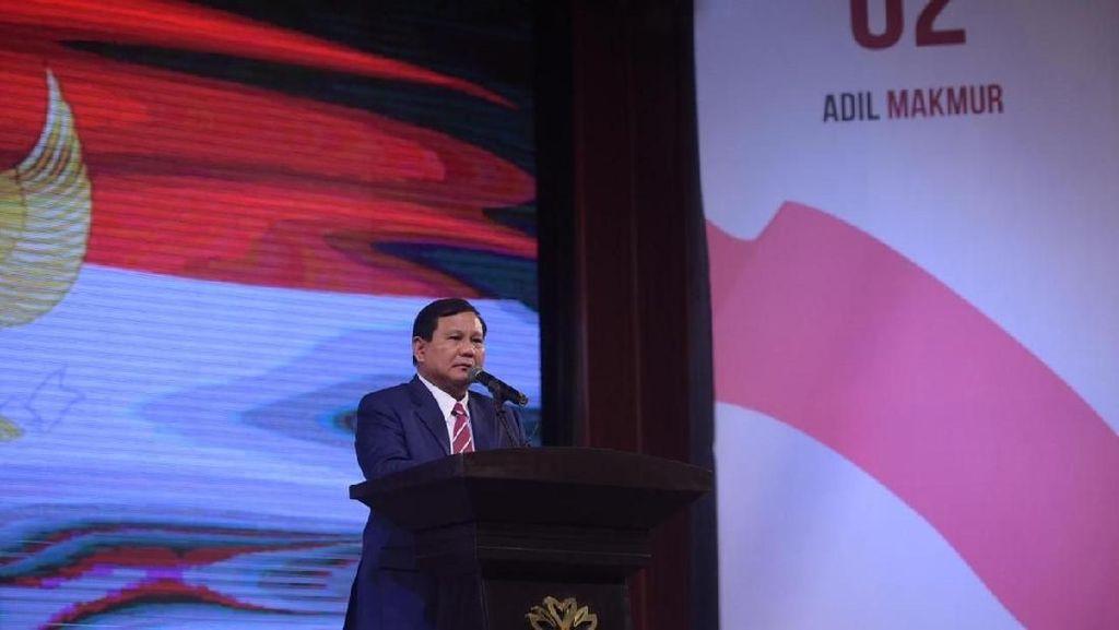 Prabowo: Pemimpin Tak Hanya untuk Satu Golongan, Kita Hidup Majemuk