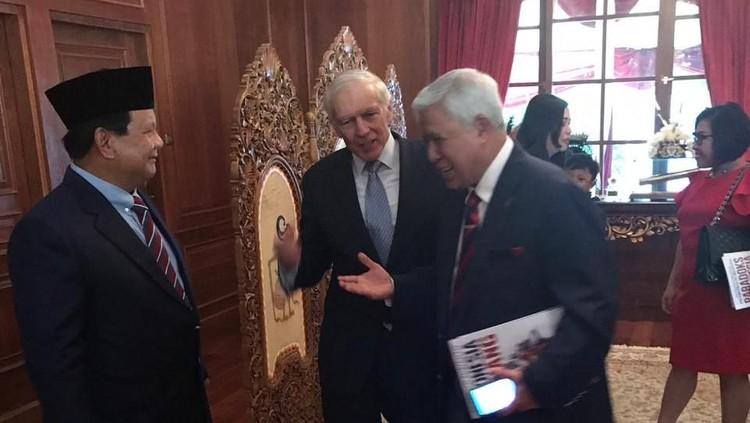 BPN: Eks Panglima NATO Isi Kuliah di Rumah Prabowo, Tak Terkait Pilpres
