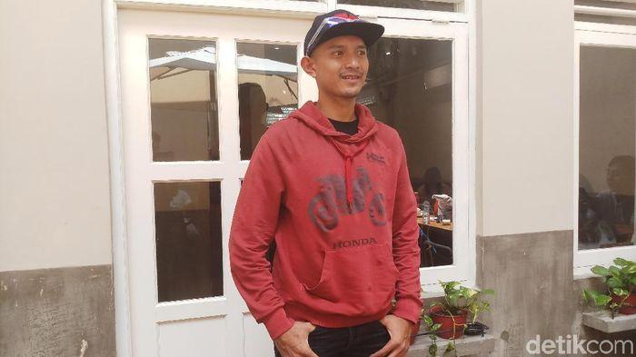 Dimas Ekky Pratama akan membalap di Moto2 2019. (Foto: Yanu Arifin/detikSport)