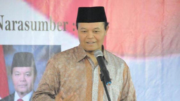 Hidayat Nur Wahid Semangati Caleg PKS Fransisca Santa Clause