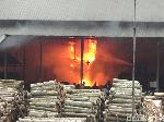 Pabrik Kayu di Lumajang Terbakar, 10 Karyawan Terluka