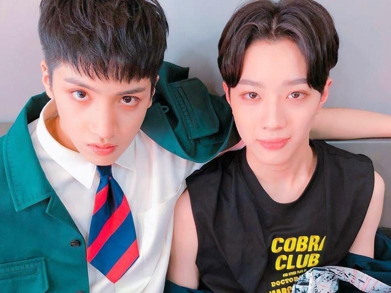 Foto: Lai Kuan Lin dan Wooseok Pentagon (dok. Cube Entertainment)