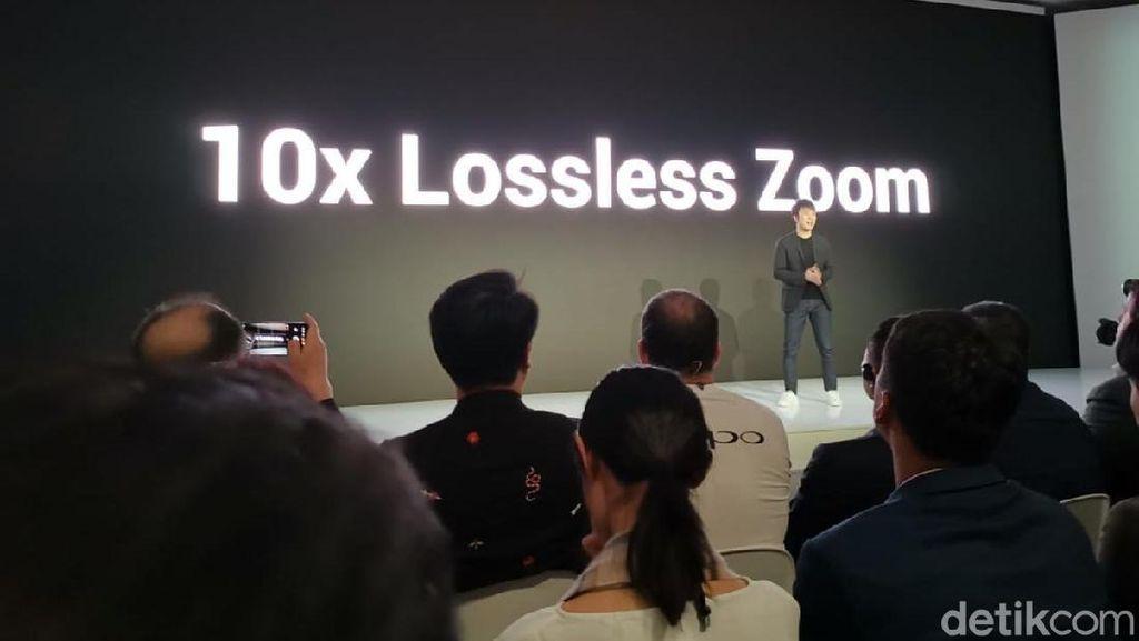 Oppo Pamer Teknologi Zoom 10x, Apa Kehebatannya?