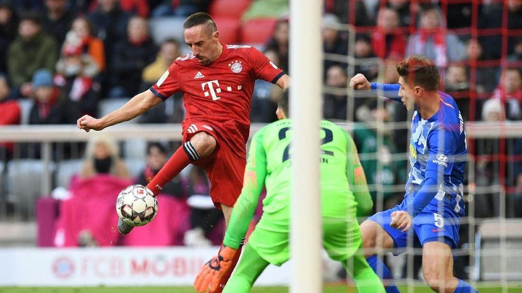 Hasil Liga Jerman: Kalahkan Hertha, Bayern Tempel Dortmund