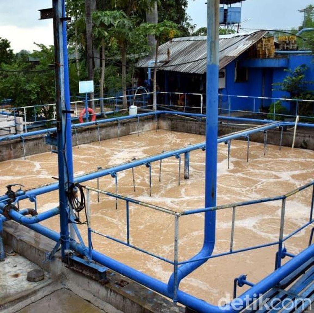 Saluran Limbah Ditutup Warga dan Ansor, Perusahaan di Pasuruan Geram