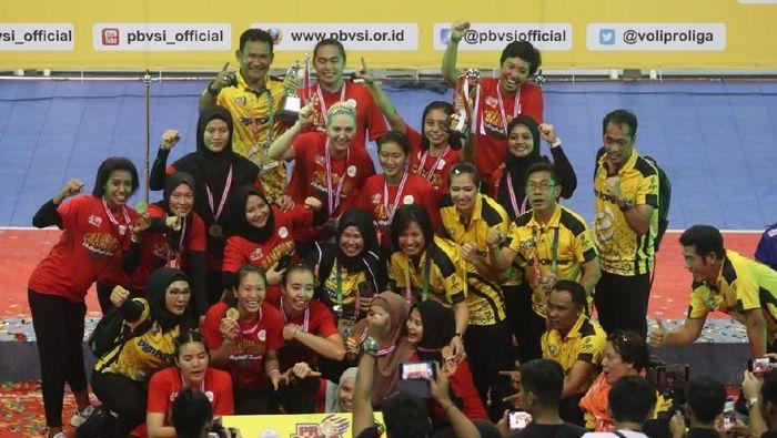 Jakarta PGN Popsivo Polwan juara Proliga 2019 (Foto: dok. Proliga)