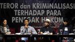 Momen Novel Baswedan Bicara Teror Terhadap Penegak Hukum