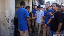 Sowan ke Tokoh Agama di Karangasem, Sandi Disambut Pasukan Emak-emak
