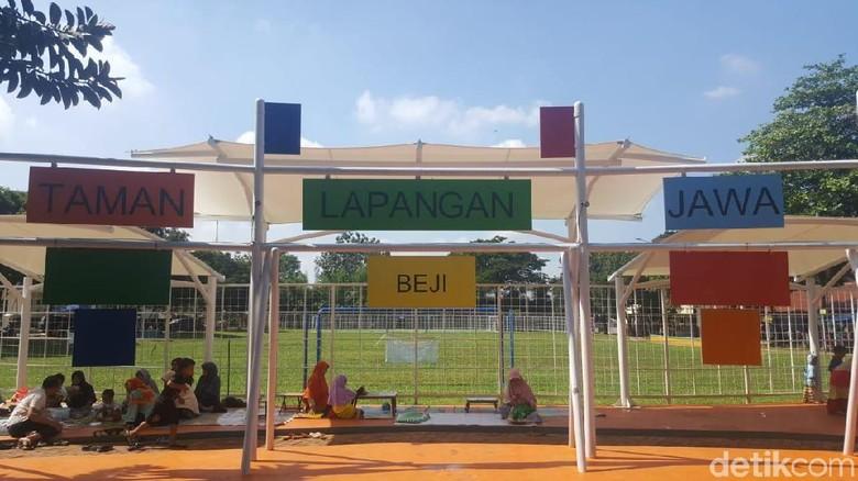 Taman Lapangan Jawa di Depok (Fitraya/detikTravel)