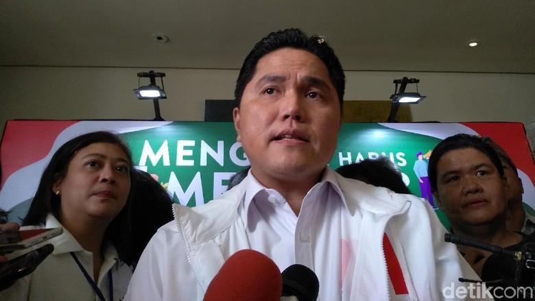 Erick Thohir: Penangkapan Romahurmuziy Tak Pengaruhi Elektabilitas Jokowi