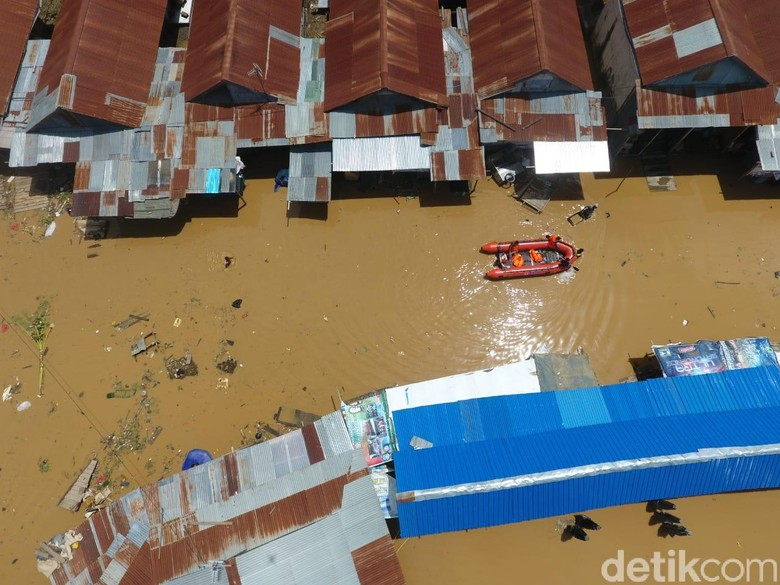1.300 KK Warga Kota Jayapura Terdampak Banjir dan Longsor