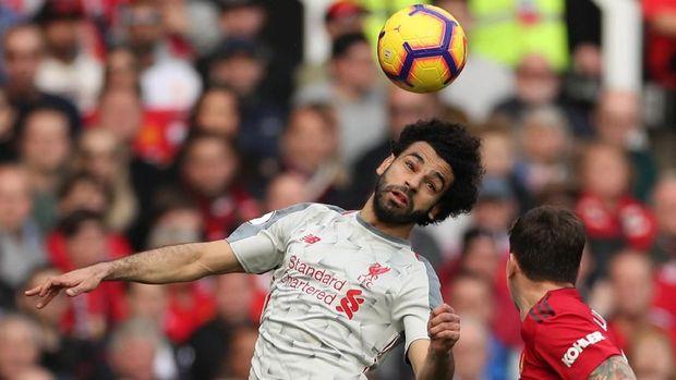 Mo Salah digantikan Divock Origi. (
