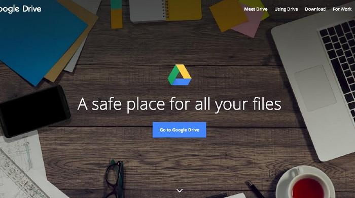 Google Drive, layanan penyimpanan yang kini kian lazim dipakai termasuk di WhatsApp. (Foto: dok. Google)