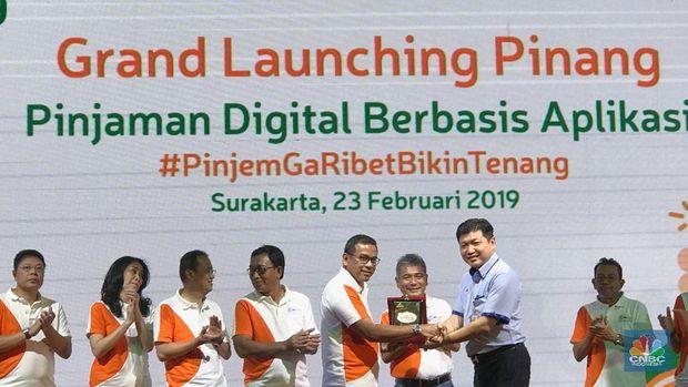 BRI Agro Rilis PINANG, Aplikasi Pinjaman Digital Pertama RI