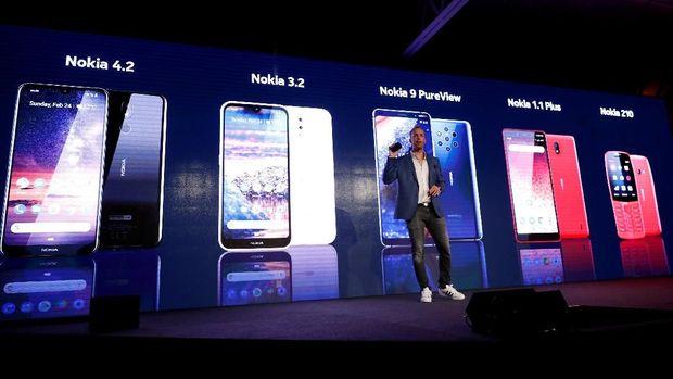 Nokia 9 Pureview, Ponsel 5 Kamera Belakang Seharga Rp 9,8 Juta