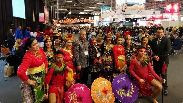 Anjungan Indonesia dan Tarian Daerah Ramaikan Pameran Wista di Denmark