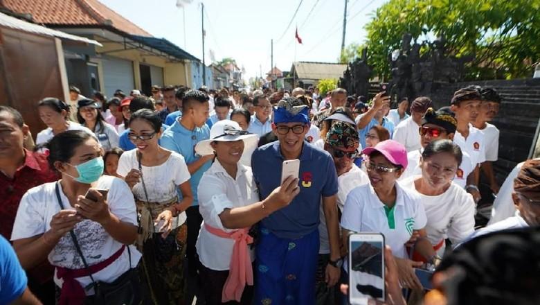 Sandiaga Ok Oce Bakal Gaspol Entrepreneur Wisata Halal Di Bali