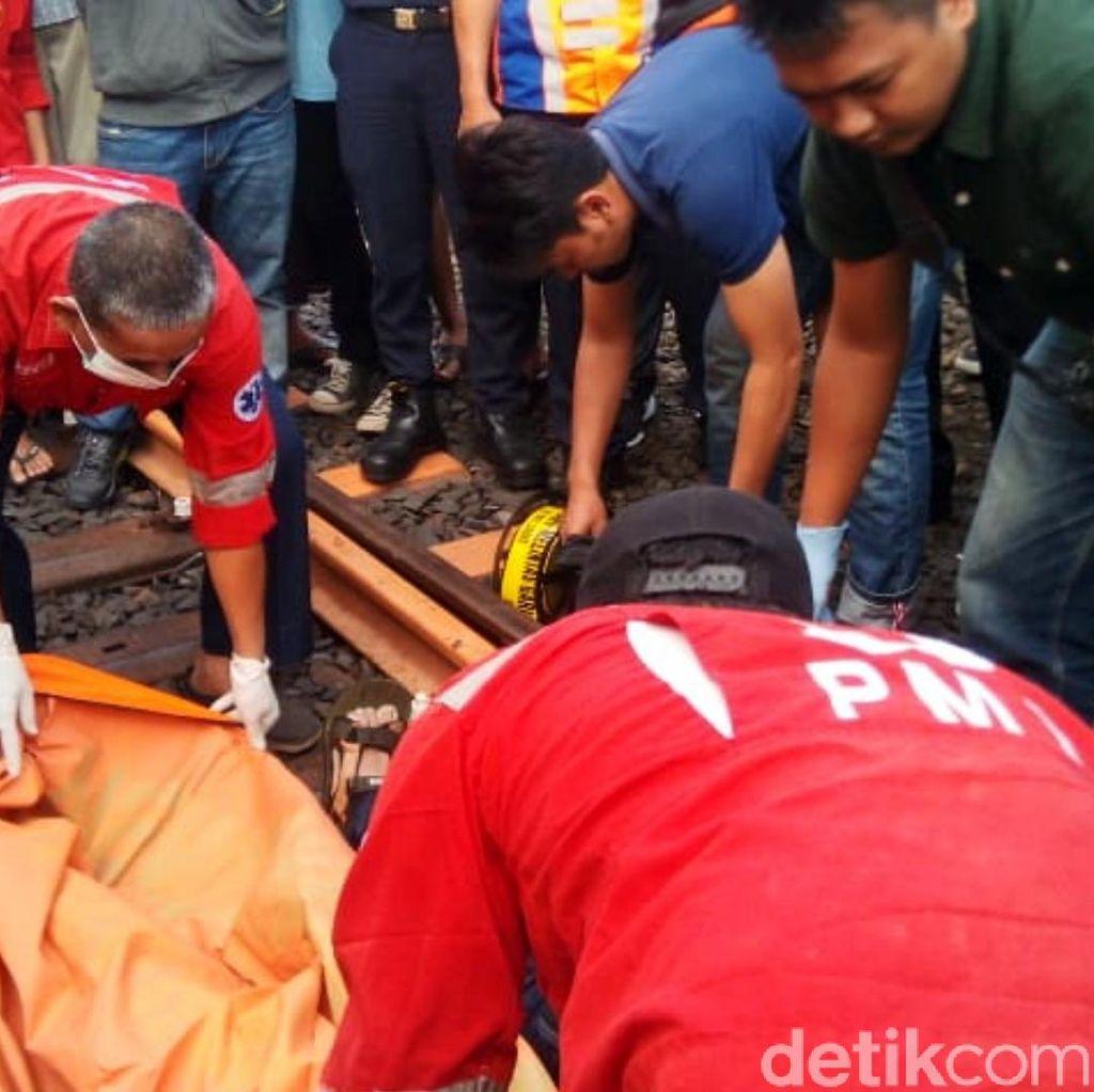 Pria Bertato Motif Tribal Ditemukan Tewas Tergeletak di Rel Cianjur
