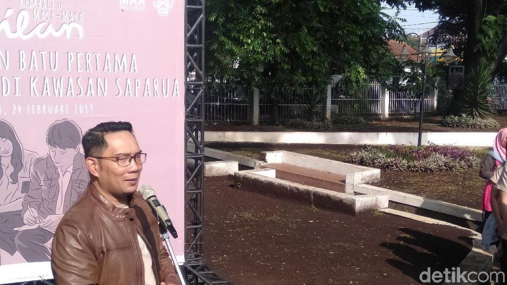 Ridwan Kamil Jawab Kritik Netizen soal Dilan Corner