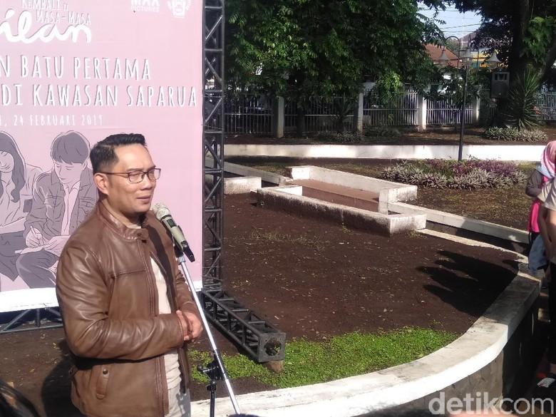 Pembangunan Dilan Corner Ridwan Kamil, Antara Lebay dan Politis