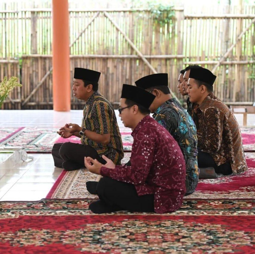Di Ponpes Tahfidz Sunan Pandanaran, Rommy Bicara RUU Pesantren