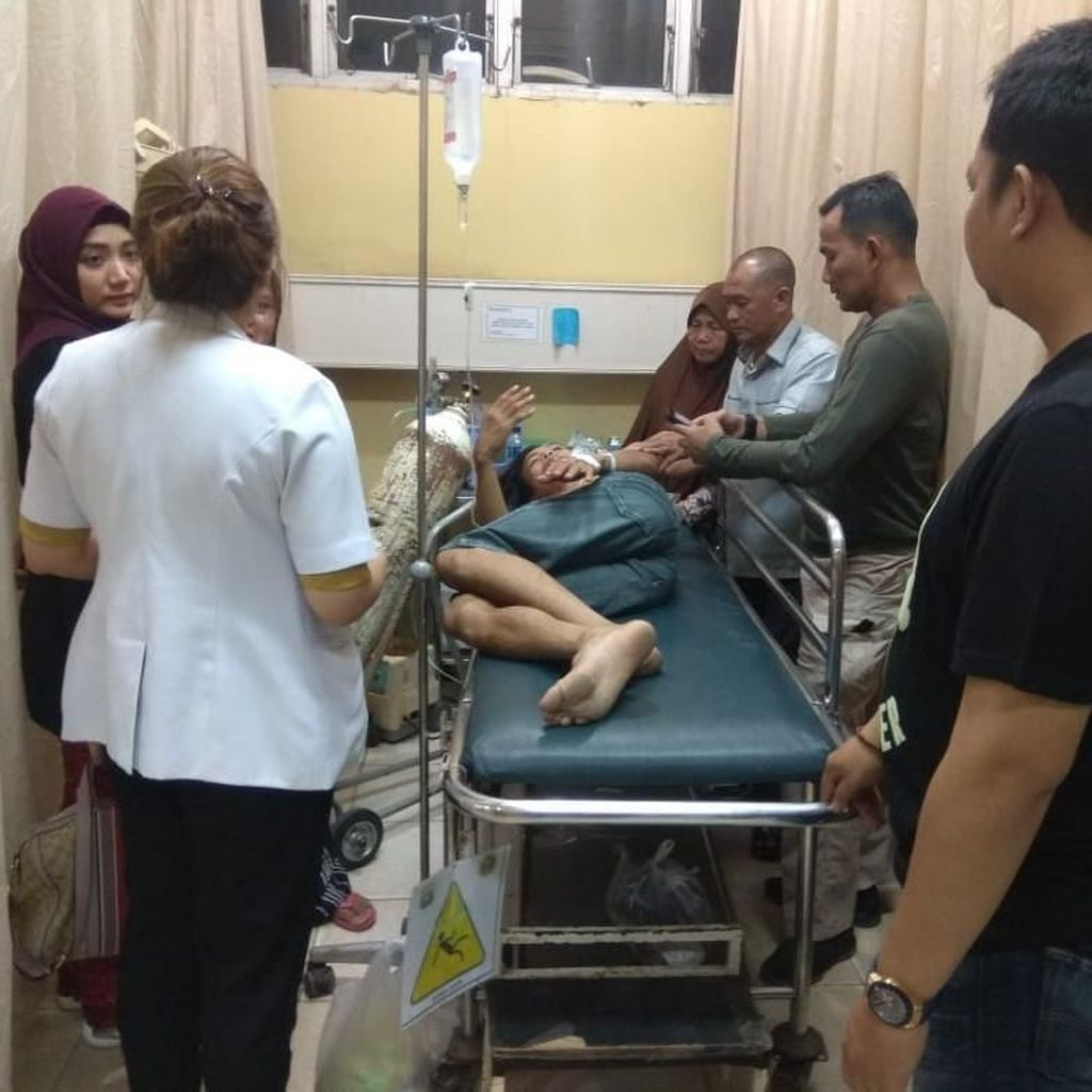 Anggota Polisi Ditusuk Saat Buru Pelaku Kejahatan di Palembang