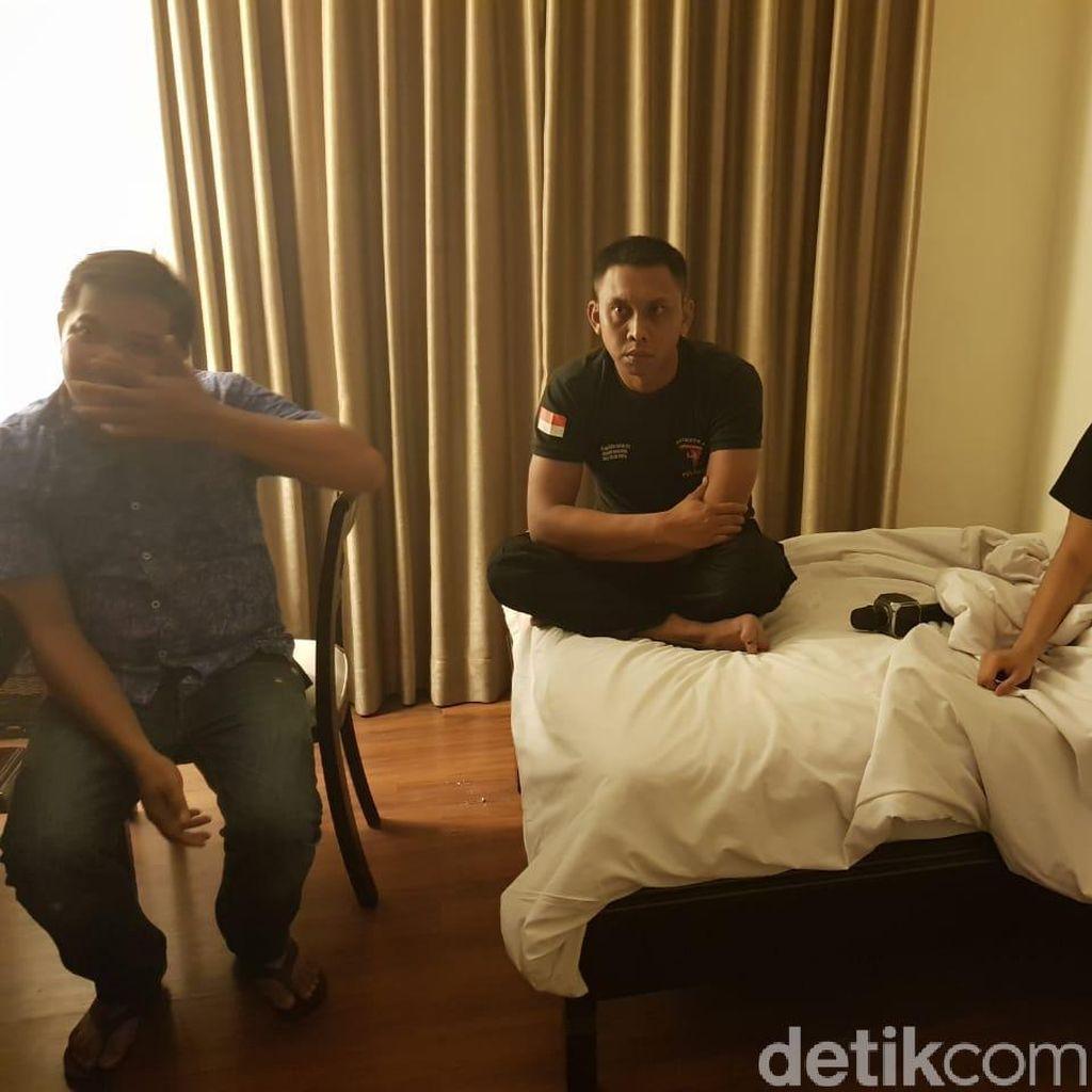 3 Polisi dan 1 Perempuan Ditangkap Saat Pesta Sabu di Makassar