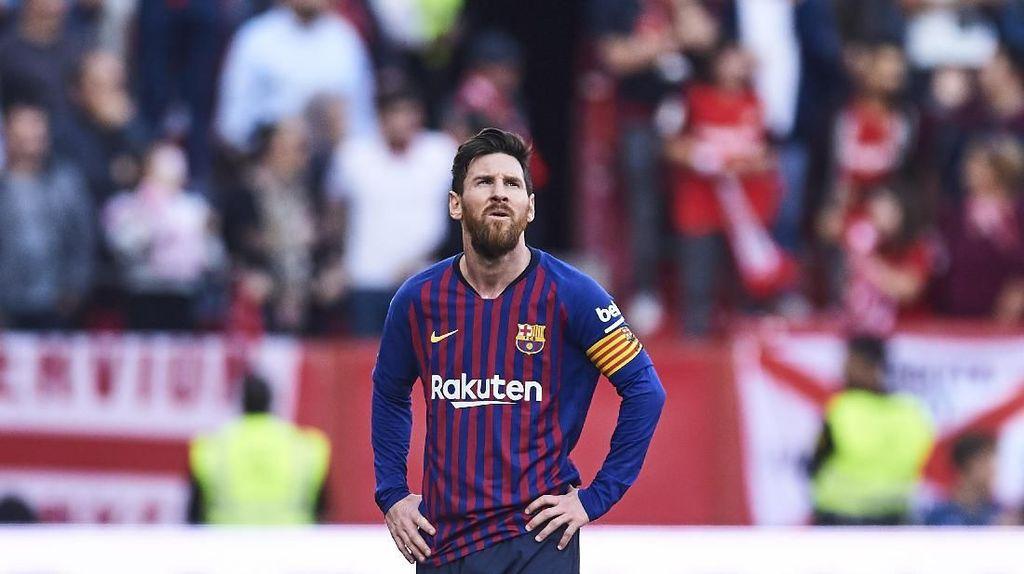 Messi: Barcelona Bidik Treble Winner