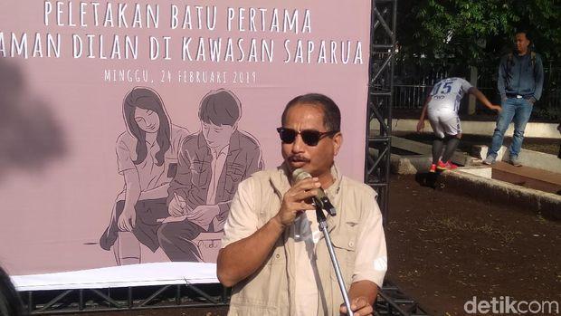 Taman Dilan Diresmikan Menteri Pariwisata Arief Yahya hingga Ridwan Kamil