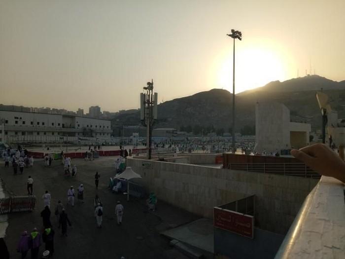 Jalan-jalan pagi di sekitar Masjidil Haram