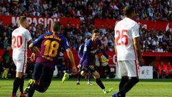 Karena Gawang Sevilla adalah Favorit Messi