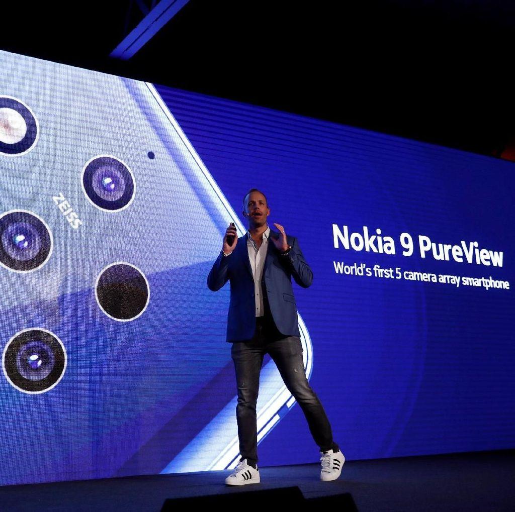 Kotak Permen Karet Kelabui Sensor Sidik Jari Nokia 9 Pureview