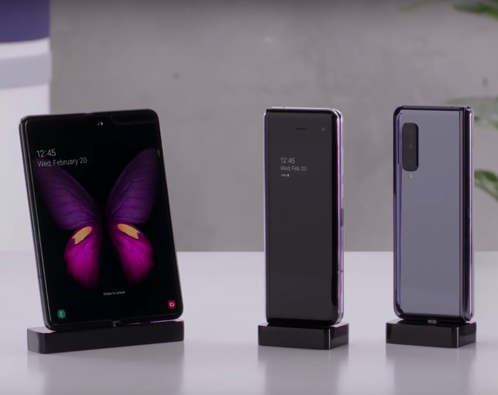 Samsung Galaxy Fold. Foto: YouTube Samsung