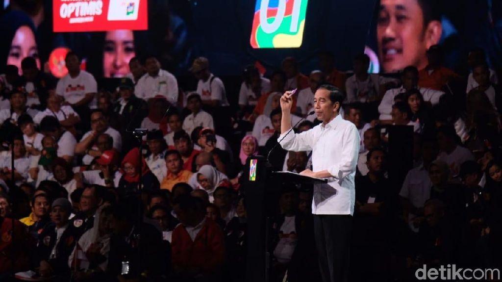Jokowi Banggakan Angka Kemiskinan Terendah Sepanjang Sejarah