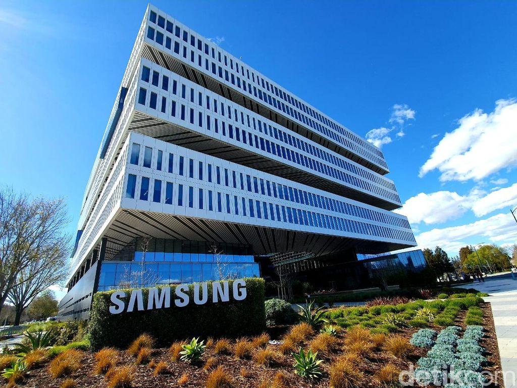 Penampakan pusat R&D Samsung yang salah satunya fokus pada sektor semikonduktor. Foto: Imron Rosyadi/detikinet