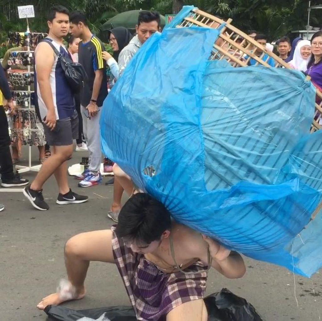 Ada Aksi Teatrikal Rayakan Hari Peduli Sampah