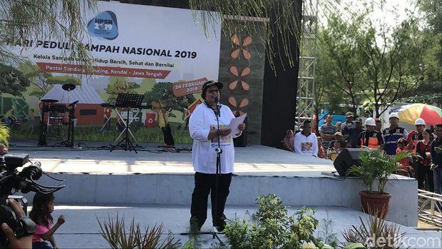 Menteri Lingkungan Hidup dan Kehutanan (LHK), Siti Nurbaya.