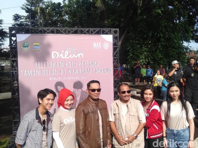 Sudut Film Dilan Diresmikan Menteri Pariwisata Arief Yahya hingga Ridwan Kamil Foto: Veynindia Pardede/ detikHOT