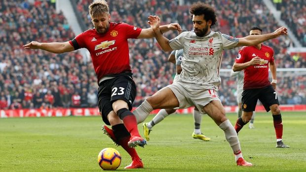 LIVE: Manchester United vs Liverpool di Liga Inggris