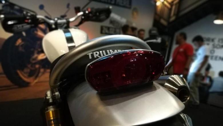 Triumph Scrambler 1200 Foto: Ridwan Arifin