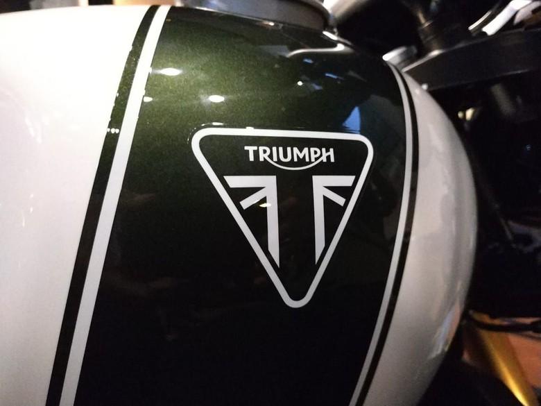 Motor besar Triumph Foto: Ridwan Arifin