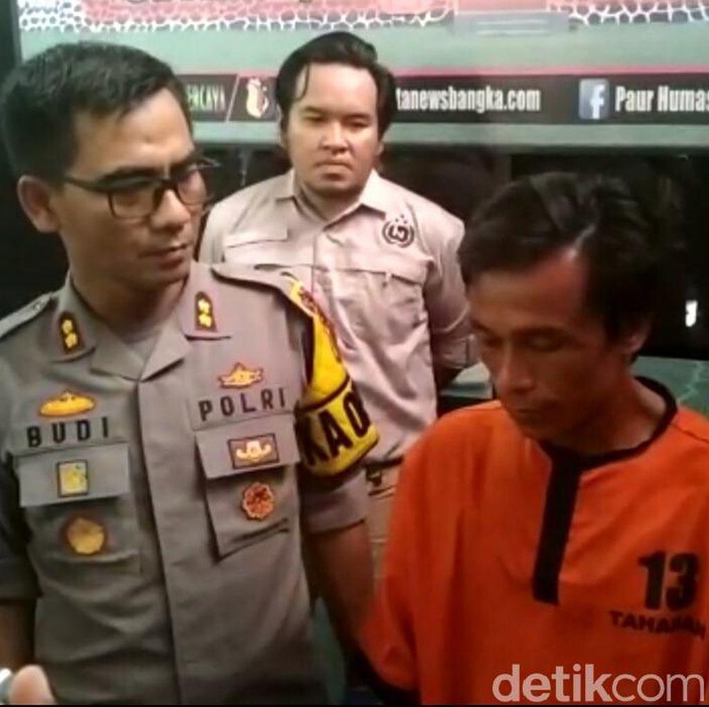 Pembunuh Domi di Bangka Ditangkap Polisi