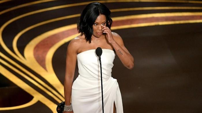 Pemenang Oscar, Regin,a punya pengalaman pribadi dengan HIV. (Foto: Kevin Winter/Getty Images