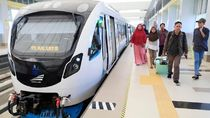 LRT Palembang Kini Terintegrasi dengan Trans Musi dan DAMRI